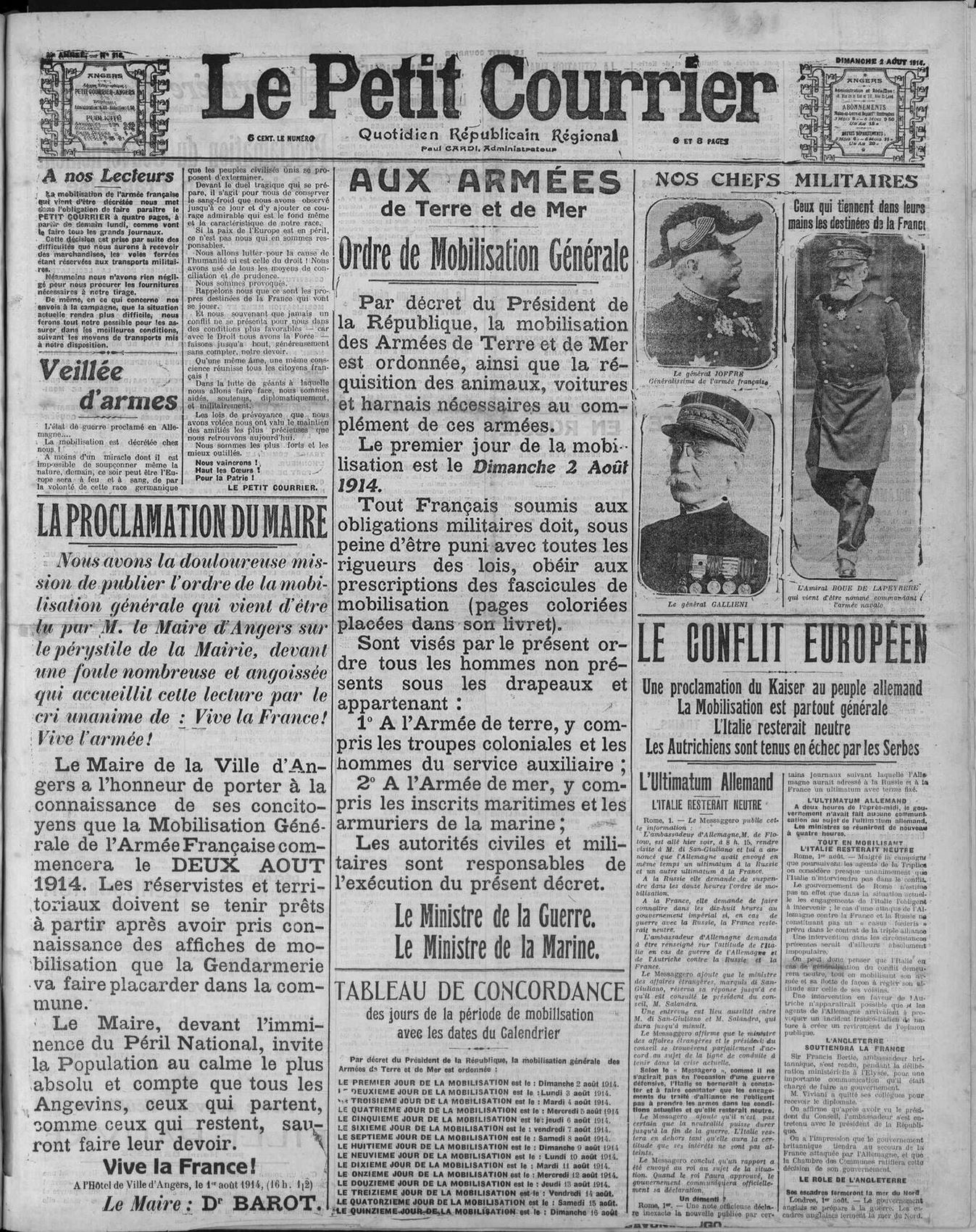 2 aout 1914
