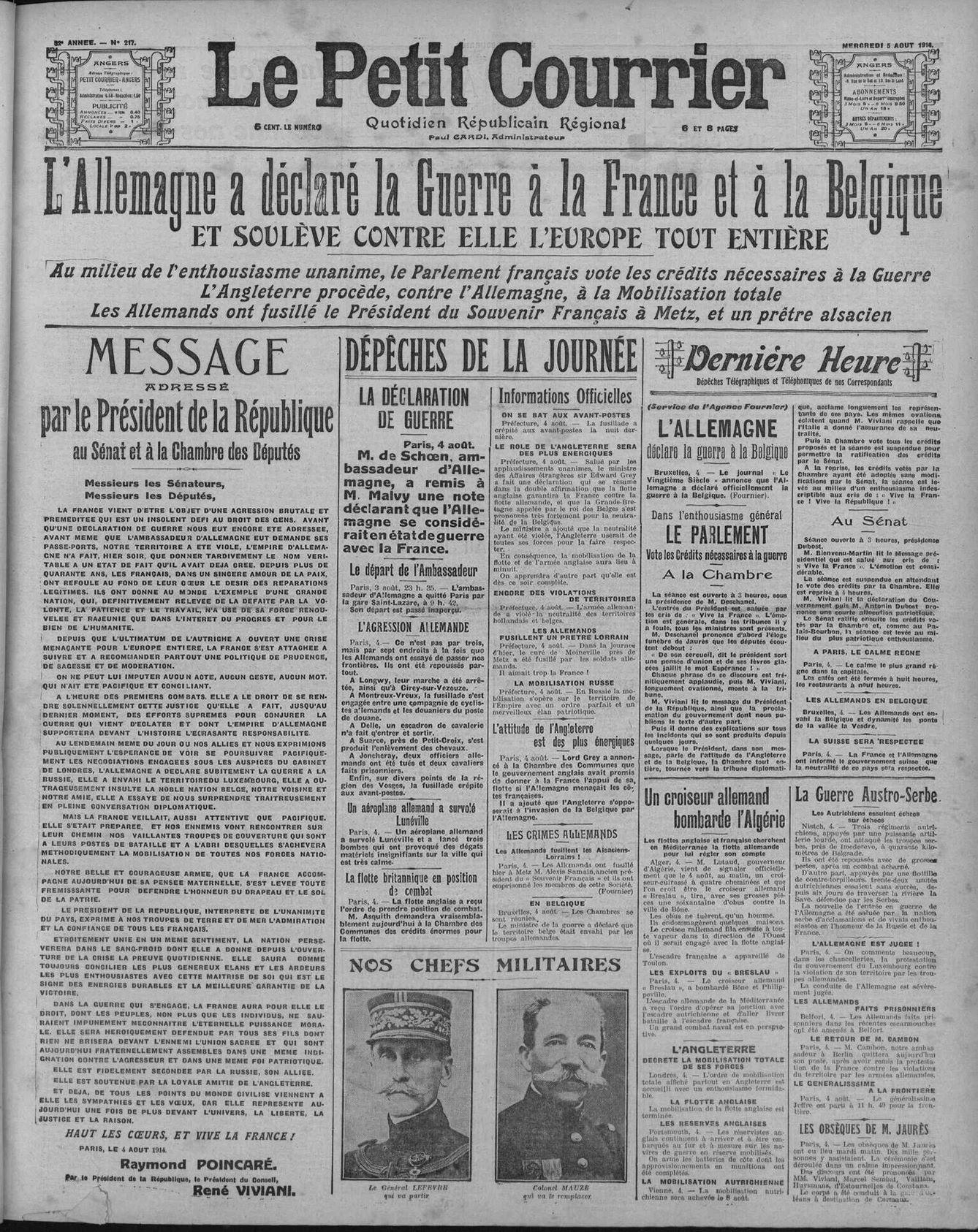 5 aout 1914