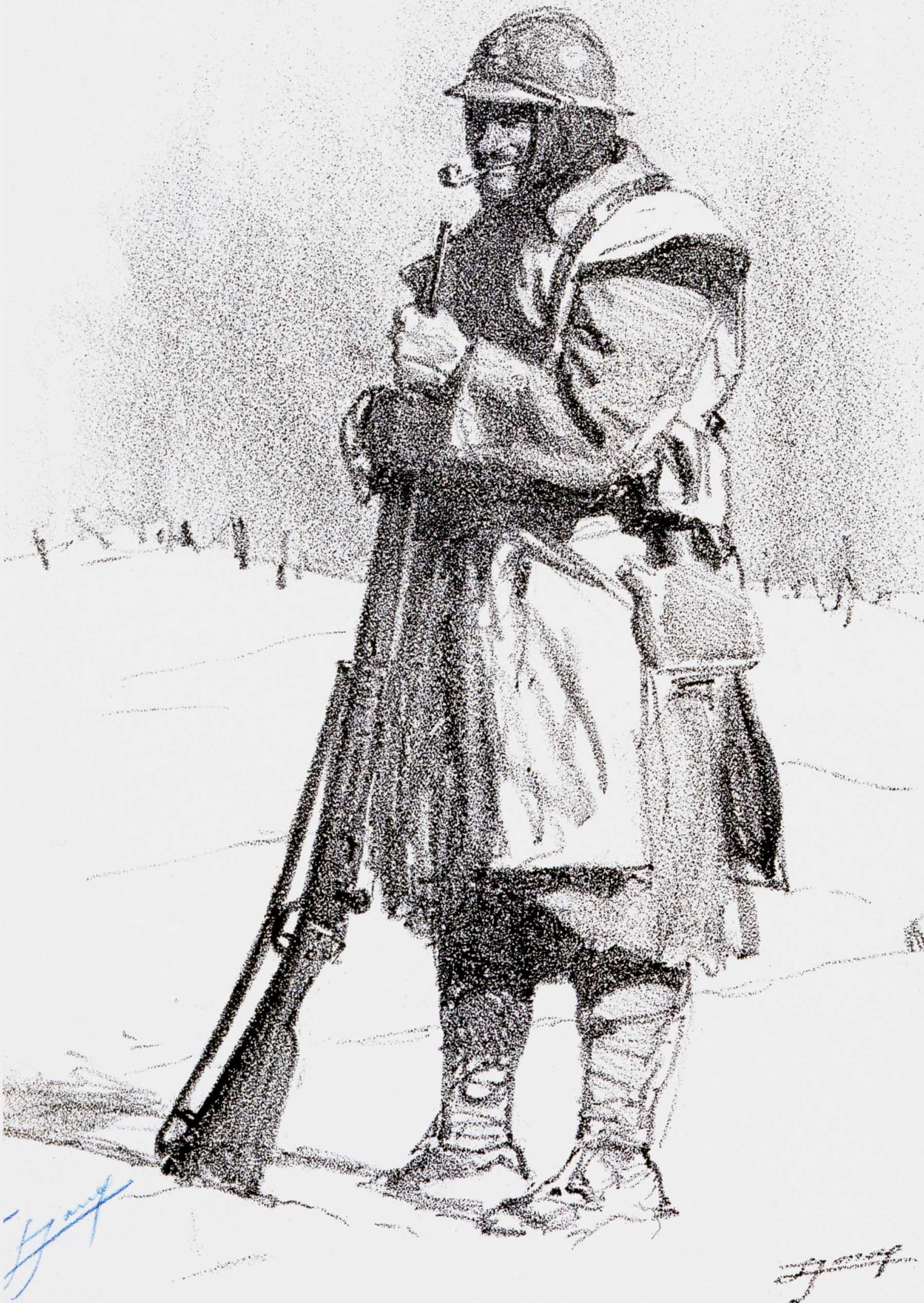 Dove s odano i fucili gabriel p ri cantiere poesia - Dessin de soldat ...